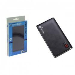 Batería Powerbank Cromad 10000mAh LCD 2.1A Negra