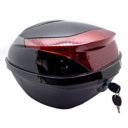 Baúl Trasero 13L Negro Moto